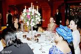 SM le Roi offre un diner en l'honneur des participants à la Conférence Internationale sur le contrôle du cancer