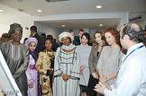 SAR la Princesse Lalla Salma visite le Centre d'Oncologie et d'hématologie-CHU Mohammed VI à Marrakech