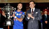 SAR le Prince Moulay Rachid préside à Rabat la finale de la Coupe du Trône de football, saison 2016-2017