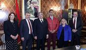 Le président du Parlement portugais salue le niveau des relations unissant le Maroc et son pays