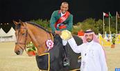 Concours international de saut d'obstacles d'Al Rayyan Doha (1,50m): victoire de Abdelkebir Ouaddar