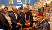 Festival du Patrimoine Cheikh Zayed : Mme El Moussali effectue une tournée au pavillon marocain