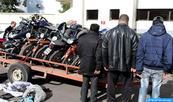 Arrestation de trois individus présumés impliqués dans le trafic de motos volées, faux et usage de faux
