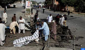 Série d'attentats au Pakistan : 57 morts et plus de 200 blessé