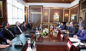 Les relations de coopération au centre d'un entretien de M. Benchamach avec une délégation parlementaire jordanienne