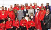 Distinction de l'équipe marocaine à la clôture du premier championnat arabe des sports aériens
