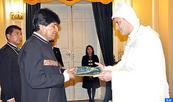 L'Ambassadeur du Maroc en Bolivie remet ses lettres de créance au Président Evo Morales