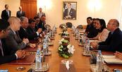 Les relations bilatérales et la question palestinienne au centre d'une rencontre entre Mme Bouaida et une délégation parlementaire jordanienne