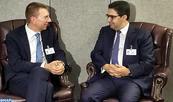 La Lettonie intéressée par l'expérience cumulée par le Maroc en matière de sécurité régionale (MAE)