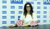 La journaliste et écrivaine Keren Benoliel, invitée de la rencontre périodique du Pôle de la MAP en Amérique du Sud