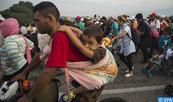 Une nouvelle caravane de 2.000 migrants centraméricains progresse vers le sud du Mexique