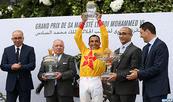 Le cheval Az-Zubayr remporte le Grand Prix de SM le Roi Mohammed VI du pur-sang anglais