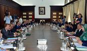 Adoption en Conseil de gouvernement d'un projet de décret fixant les attributions des directions centrales de la DGSN