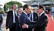 Le Président français quitte le Maroc après une visite de travail à l'occasion de l'inauguration de la LGV Tanger-Casablanca