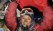 Deux alpinistes marocaines au sommet de l'Everest