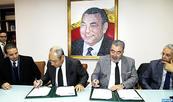 Signature d'un contrat de partenariat entre la MAP et la FMEJ visant le développement de la presse digitale