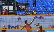 Championnat arabe de beach-volley Agadir 2018: la sélection marocaine A leader du classement féminin après deux journées