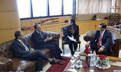 M. El Malki s'entretient avec le président du Congrès Paraguayen du renforcement de la coopération bilatérale