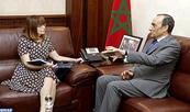 La dynamisation du groupe d'amitié parlementaire au centre d'entretiens entre M. El Malki et l'ambassadrice d'Australie au Maroc