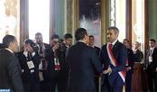 M. Habib El Malki représente SM le Roi à la cérémonie d'investiture du président paraguayen