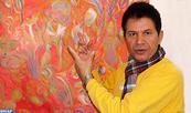 Ali Lagrouni: Quand l'harmonie des sons et des couleurs façonne le spectacle pictural