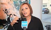 L'artiste-peintre Hanae El Ouadghiry expose à Fès ''la chute des anges''