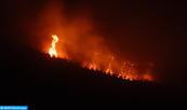 Espagne: plus de 2.600 ha calcinés et une dizaine de maisons détruites par un incendie