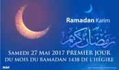Samedi, premier jour du mois sacré de Ramadan au Maroc (ministère des Habous et des affaires islamiques)