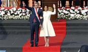 M.Mario Abdo Benitez investi à Asuncion en tant que président du Paraguay