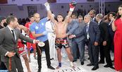 Le Marocain Zakaria Tijarti vainqueur de la 4è édition du GP SM le Roi Mohammed VI de Kickboxing