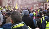 «Gilets jaunes» : mobilisation en baisse à Paris et dans toute la France