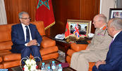 M. Loudyi s'entretient avec le Haut conseiller à la Défense britannique chargé de la région MENA