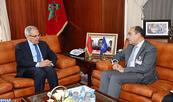 M. Loudyi reçoit le Secrétaire général adjoint de l'OTAN, chargé des Affaires politiques et de la Politique de sécurité, Alejandro Alvargonzalez