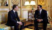 Saad Hariri s'entretient à l'Élysée avec le président français
