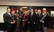Remise des Trophées Maroc 2016 de l'ONMT à Madrid