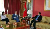 M. Mezouar reçoit le ministre des Affaires étrangères et de la Coopération mauritanien