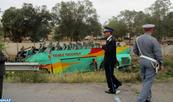 Mohammedia: 4 morts et 34 blessés dans le renversement d'un autocar (autorités locales)