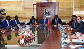 La préparation du FOMAHDU 2018 au centre des entretiens à Rabat entre M. Benabdallah et une délégation sénégalaise