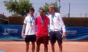 Jeux méditerranéens Tarragone-2018 (Tennis): Ouahab décroche la 8è médaille d'or marocaine