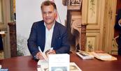 Fouad Laroui présente en avant-première à Paris son nouveau livre ''Dieu, les mathématiques, la folie''