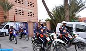 Saisie à Marrakech d'une quantité importante de drogues et arrestation de quatre personnes impliquées dans cette affaire