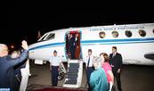 Le Président portugais quitte le Maroc au terme d'une visite officielle