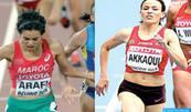 Les Marocaines Malika Akkaoui et Rabab Arafi qualifiées pour la finale du 1500m des Mondiaux d'athlétisme de Londres