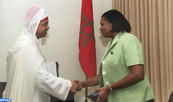Sainte-Lucie salue son partenariat avec le Maroc, aspire à le consolider davantage dans tous les domaines (Sarah Flood-Beaubrun)