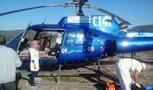 Province d'Azilal: Une femme dans un état critique sauvée par un hélicoptère du ministère de la Santé