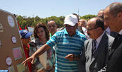Le ministre de la Jeunesse et des sports effectue une visite d'inspection à la colonie de vacances de Saïdia