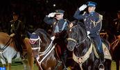 La cavalerie de la DGSN brille de mille feux à Séville