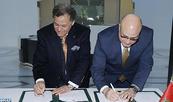 Signature d'une convention de partenariat entre la FNM et le groupe Renault Maroc visant la promotion de l'activité muséale au Royaume