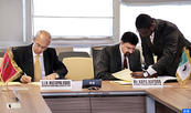 Signature à Abidjan de l'accord de prêt de la BAD d'un montant de plus de 134 millions de dollars pour appuyer la gouvernance de la protection sociale au Maroc