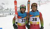 Ski Alpin : Les frères Lamhamedi représentent honorablement le Maroc lors du slalom géant de l'Universiade d'hiver à Almaty au Kazakhstan